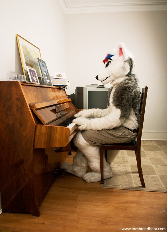 Smirnoff is a husky wolf hybrid, he lives in North London. He works as an actor and director