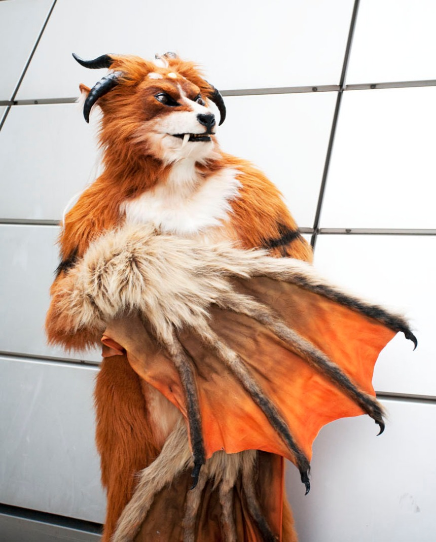 Pazuzu, self-proclaimed demon lord of the furries