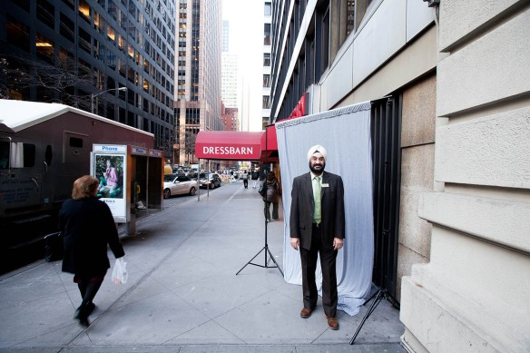 Harpreet Pal Singh, 49, Hotel Concierge, Times Square, New York (Photograph courtesy: ©Mark Chilvers 2013)