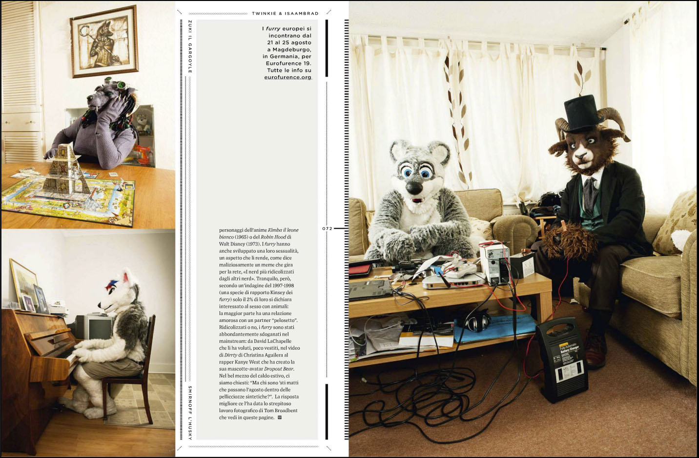 At Home With The Furries and Wired Magazine (Italy) | Broadbentius\' Blog