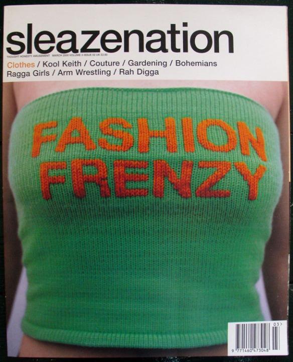 SLEAZE COVER