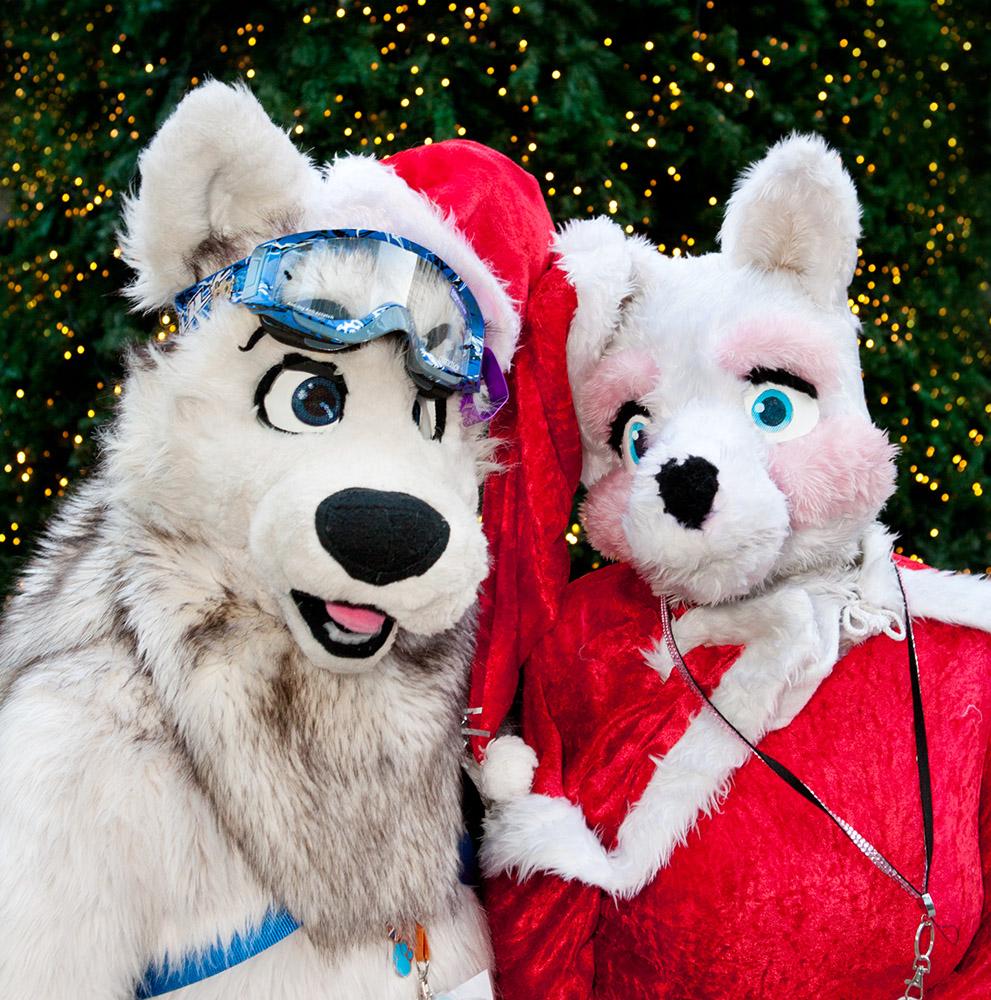london furries winter ball - Christmas Furry
