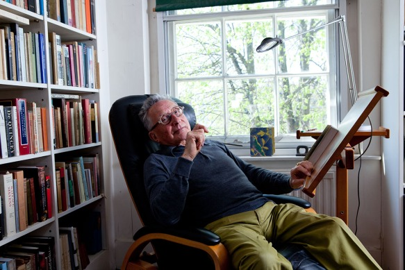 John Kasmin and his postcard collection