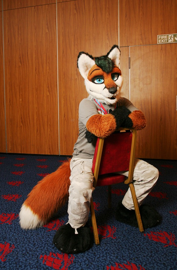Alfa Fox in all his glory
